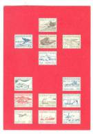 Gronland / Greenland Stamps Pictured On Postcard, 1960-70s #2 - Greenland