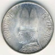 VATICANO - 1966 - 500 Lire - PAULUS VI - ANNUS IV - KM Y 91 - UNC From Divisionale - Silver Argento Argent Zilber Plata - Vatican