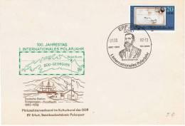 L-ARC16 - ALLEMAGNE ORIENTALE Année Internationale Polaire 1982 - Polarmarken