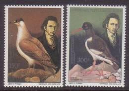 BENIN  Audubon Birds 1985 Mnh 2v - Pájaros