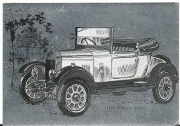 Voiture :  Bullnose  Morris - Postcards