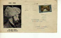 TURQUIA 1983 FDC  SOBRE CIRCULADO  OHL - 1934-39 Sandjak Alexandrette & Hatay