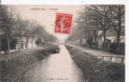 CONDOM (GERS) LE CANAL  (PENICHE) 1914 - Condom