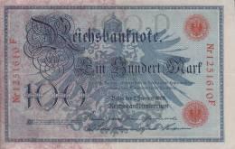 100 REICHSBANKNOTE PERFETTE INTEGRE VEDI SCANNER - [ 4] 1933-1945: Derde Rijk