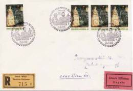 ONU  Vienne 1981  N°19   =  Enveloppe  Oblitéré - FDC
