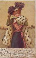 Elegante Carte Pailletée - Women