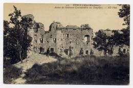 K20 - VENCE - Ruines De L'ancienne Commanderie Des Templiers - Vence