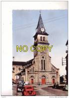 SAINT DIE -  Eglise Saint Martin -   Véhicules Anciens  -   N°  107 - Saint Die