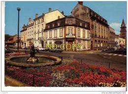 SAINT DIE -  Rue De La Gare Et Rue Gambetta - Café Du Nouvel Hôtel  - Restaurant - Saint Die