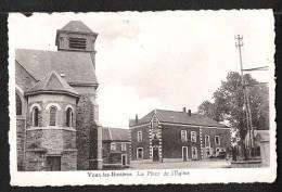 Vaux-les- Rosières.  La Place De L'Eglise. Photo Dessart. - Vaux-sur-Sûre