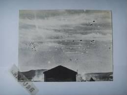 101 )REPRO :parachutage 14 07 1944 Sur Vassieux En Vercors :coll H Zeller - Documenti
