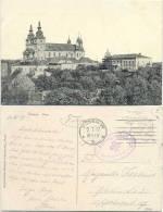AK Posen 1917, Stadt Mit Dom, Feldpost Kriegsheim Posen - Golatsch Nach Berlin - Posen