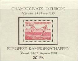 Belgium B482a Mint Never Hinged Souvenir Sheet From 1950 - 1910-1911 Caritas