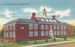 Virginia Martinsvile New High School
