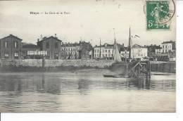 BLAYE - La Gare Et Le Port - Blaye