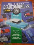 Un Siecle D'automobiles - 4 Revues N°12 à 14 - Magazines