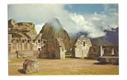 Cp, Pérou, Cuzco, Machupicchu, Plazza Sagrada Y Templo De Las 3 Ventanas - Pérou