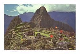 cp, P�rou, Machupicchu, Vista Parcial de la Ciudadela y Huaynapicchu