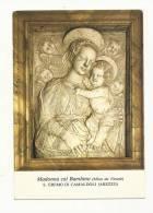 Cp, Sculpture, S.Eremo Di Camaldoli - Mino Da Fiesole - MAdonna Col Bambino - Sculture