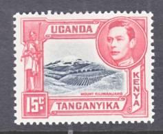 K.U.T. 72   * - Kenya, Uganda & Tanganyika