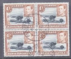 K.U.T. 80 X 4    (o) - Kenya, Uganda & Tanganyika