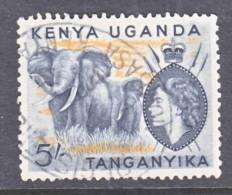 K.U.T. 115   (o)  FAUNA  ELEPHANT - Kenya, Uganda & Tanganyika