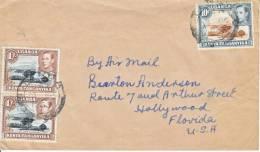 K.U.T. COVER To U.S. 1953 - Kenya, Uganda & Tanganyika