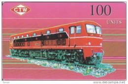 North Korea, KN-NEATT-1003, Train 100 CTW, 2 Scans. - Korea, North
