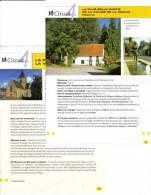"""2 Fiches Tourisme """"Circuit Pédestre La Plus Belle Partie De La Vallée De La Zwalm - Roborst"""" - Tourism"""