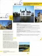"""2 Fiches Tourisme """"Circuit Pédestre - Pays De La Nèthe De Pallieter Par Le Gestelpad"""" - Tourism"""