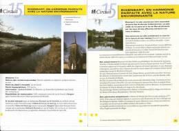 """2 Fiches Tourisme """"Promenade Pédestre : Rixensart En Harmonie Parfaite Avec La Nature Environnante"""" - Tourism"""
