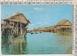 Dahomey  Africa  Citè Lacustre De Ganvie  Barche  Ship  Canoe - Dahomey