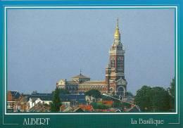 CPSM De ALBERT (80300) : Basilique Notre-Dame De Brebière . - Albert