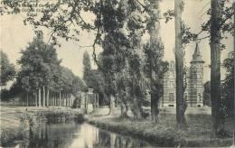 Achel :  Chateau  ( Geschreven 1909 Met Zegel ) - België