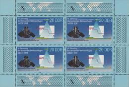 Oost-Duitsland - Kleinbogen 3191 - Xx - 1988 - Michel Kleinbogen 3191 - Blocks & Kleinbögen