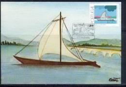 PORTUGAL - CARTE MAXIMUM (maximum Card ) - 1823 - N° 1497 Bateau (boat - Maritime) Barca De Rio Lima - Maximumkaarten