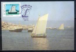 PORTUGAL - CARTE MAXIMUM (maximum Card ) - 1819 - N° 1494 Bateau (boat - Maritime) Fragata Sur Le Tage - Maximumkaarten