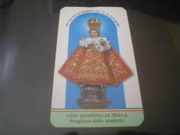 SANTINO - GESU´ BAMBINO DI PRAGA - ARENZANO (GENOVA) - PREGHIERA DELLO STUDENTE - Devotion Images