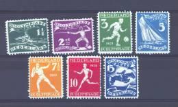 Pays-Bas  -  1928  :  Yv  199-05  * - Periodo 1891 – 1948 (Wilhelmina)