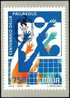 OLYMPIC / VOLLEYBALL ITALIA 1995 - CENTENARIO DELLA PALLAVOLO - CARTOLINA UIFOS + ANNULLO ISRAELE OLIMPIADI ATLANTA ´96 - Volleyball