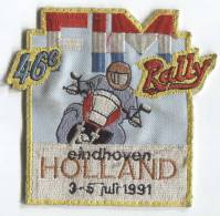 Patches, Designation - Motorbikes, Motorcycle, Rally, Eindhoven, HOLLAND - Scudetti In Tela