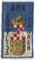 Patches, Designation - Motorbikes, Motorcycle, Club ZANATLIJA, Zagreb, Croatia - Scudetti In Tela