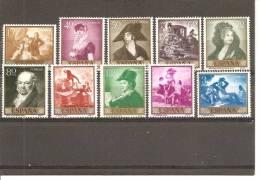 España/Spain-(MNH/**) - Edifil  1210-19  - Yvert  901-10 - 1931-Hoy: 2ª República - ... Juan Carlos I