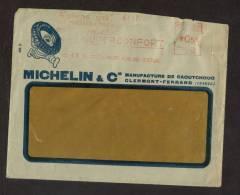 Enveloppe Michelin EMA 1933 - Publicité