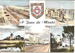 SAINT JEAN DE MONTS .. MULTI VUES . BLASON DE LA VENDEE - Saint Jean De Monts