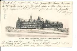 Berk-plage,institut Orthopédique Du Docteur Calot Cpa Bon état - Berck