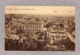 "30541   Belgio,   Spa,  Panorama,  Vu  D""Annette  Et  Lubin,  Bains - Foste,  VG  1931 - Spa"