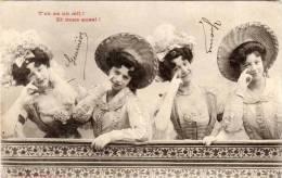 BERGERET - T' En As Un Oeil ! Et Nous Aussi !   (46011) - Fancy Cards