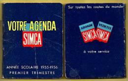 Agenda SIMCA (Aronde Et Vedette) 1955-1956_rl2 - Cars