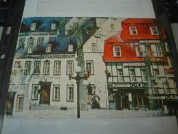 CARTOLINA VIAGGIATA CANADA - QUEBEC - PLACE D'ARMES - FRANCOBOLLO 72 Cent. - ANNULLO TARGHETTA 24/08/1981 - Montreal